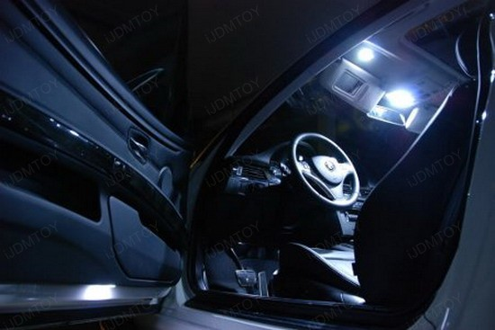 BMW - E92 - 335i - LED - interior - lights - 3